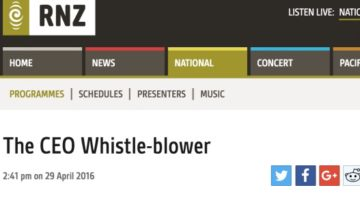 The CEO Whistle Blower