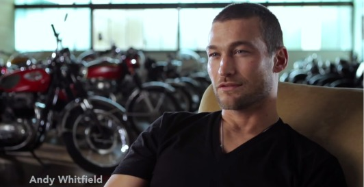 STUFF: Be Here Now follows Andy Whitfield's cancer fight