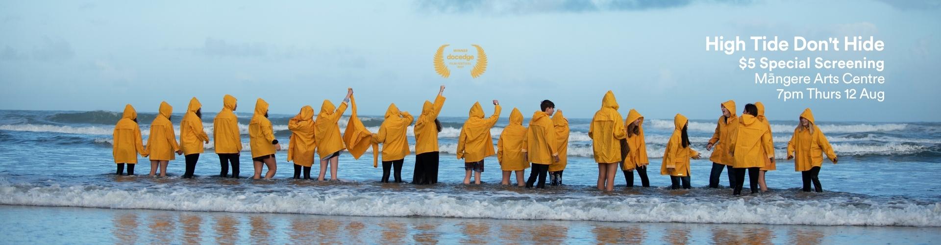 <em>High Tide Don't Hide</em> Special Screening at Māngere Arts Centre